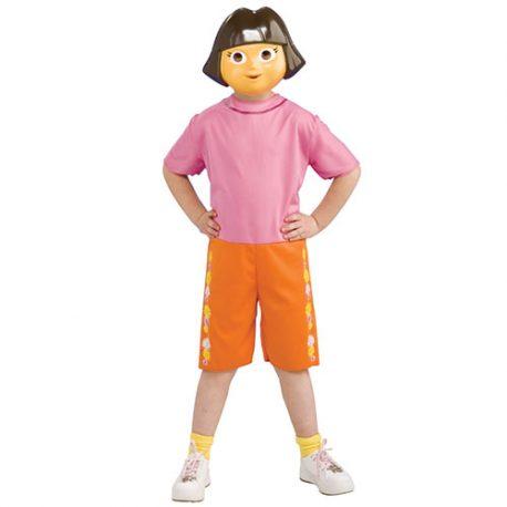 Costume enfant Dora l'exploratrice licence