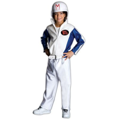Costume enfant pilote Speed Racer licence luxe