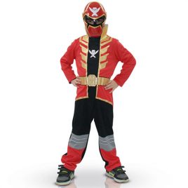 Costume enfant Power Rangers force rouge