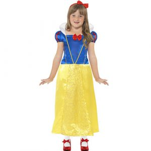 Costume enfant princesse Blanche Neige