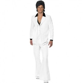Costume homme 1970 blanc