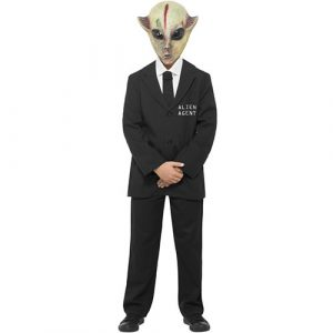 Costume enfant agent Alien
