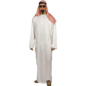 Costume homme arabe tunique blanche