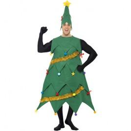 Costume homme arbre de Noël deluxe