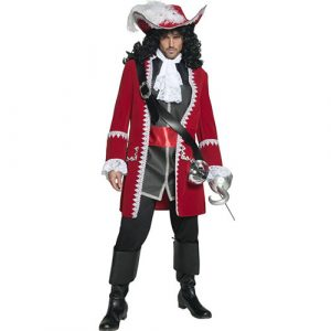 Costume homme Authentic capitaine pirate