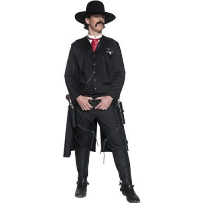 Costume homme Authentic western sheriff