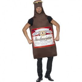 Costume homme bouteille bière Studmeister