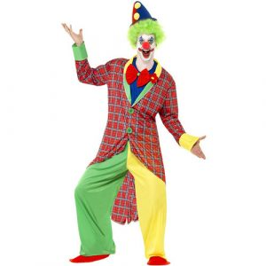 Costume homme clown cirque rigolo