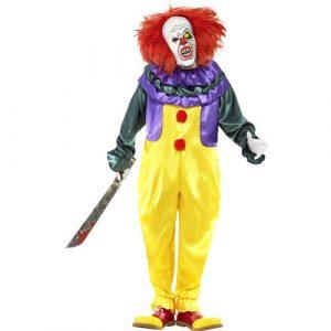 Costume homme clown horreur