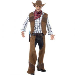 Costume homme cowboy franges