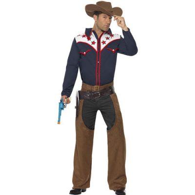 Costume homme cowboy rodéo