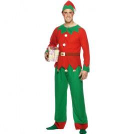 Costume homme lutin Noël