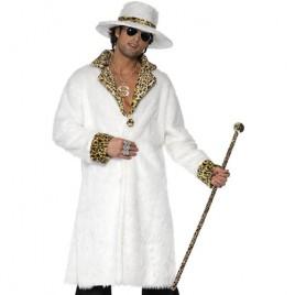 Costume homme mac blanc léopard