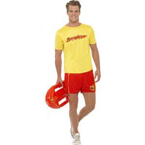 Costume homme maître nageur plage