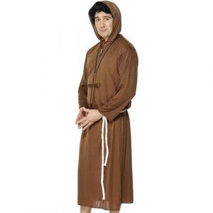 Costume homme moine marron