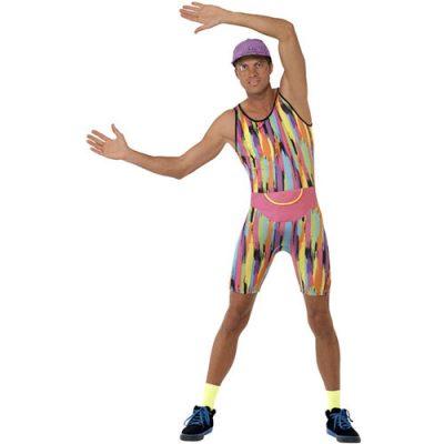 Costume homme Mr Energie coloré