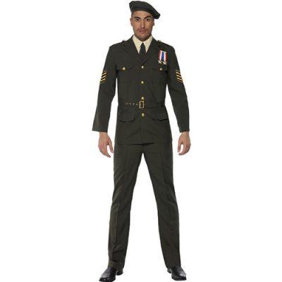 Costume homme officier guerre