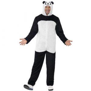 Costume homme panda noir blanc