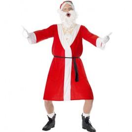 Costume homme père Noël humour