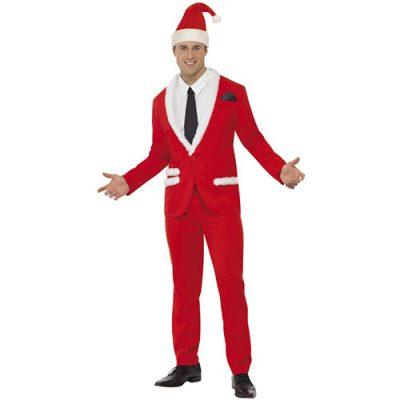 Costume homme père Noël élégant