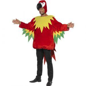 Costume homme perroquet