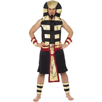 Costume homme pharaon noir or