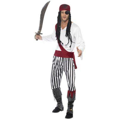 Costume homme pirate des îles