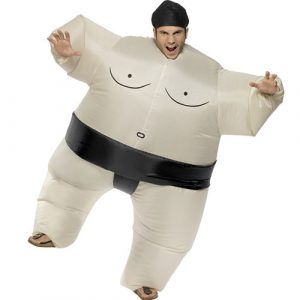 Costume homme sumo lutteur gonflable