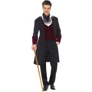 Costume homme vampire gothique sombre