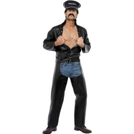 Costume homme village people biker