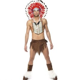 Costume homme village people indien