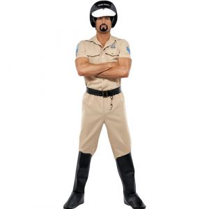 Costume homme village people motard police