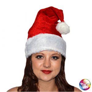 Bonnet de Noël velours