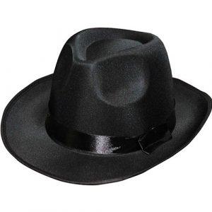 Borsalino satin noir