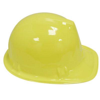 Casque chantier jaune