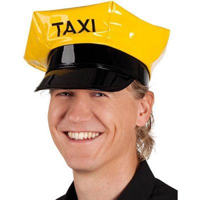 Casquette taxi jaune