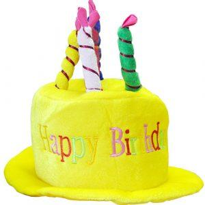 Chapeau anniversaire Happy Birthday