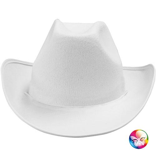 luxe Nouvelle Pré-commander Chapeau cowboy blanc uni - Location de costumes | Magasin de ...