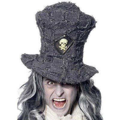 Chapeau fossoyeur terrifiant