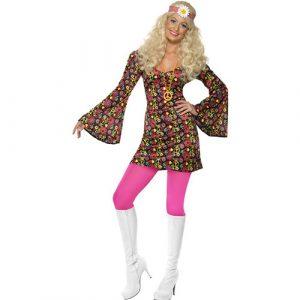 Costume femme 1960 élégante hippie