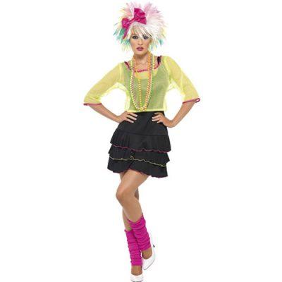 Costume femme 80s pop party