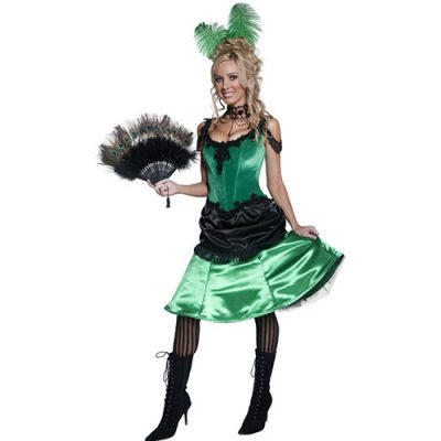 Costume femme Authentic Western danseuse de saloon