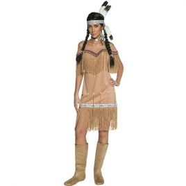 Costume femme Authentic Western indienne