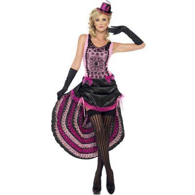 Costume femme beauté burlesque