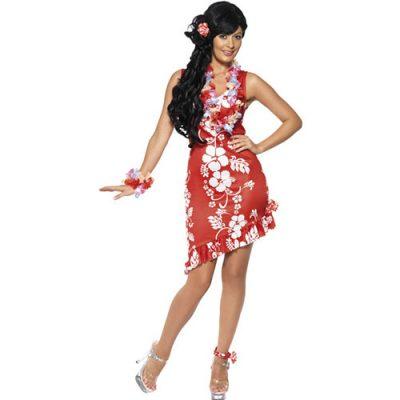 Costume femme beauté hawaïenne