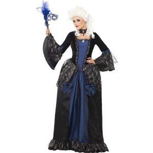 Costume femme belle baroque bal masqué