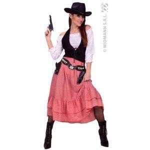 Costume femme belle de l'ouest