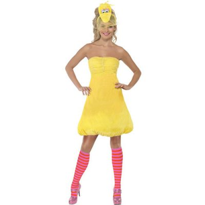 Costume femme Sesame Street Big Bird