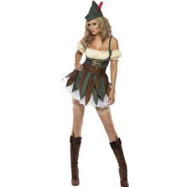 Costume femme brigand des bois sexy