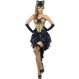 Costume femme burlesque animal